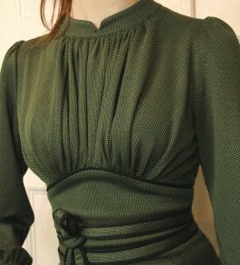 dress Mirja green - 34