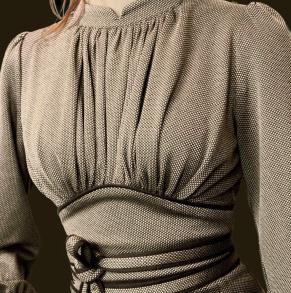 dress Mirja pearlgrey-beige - 44