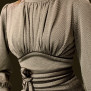dress Mirja pearlgrey-beige