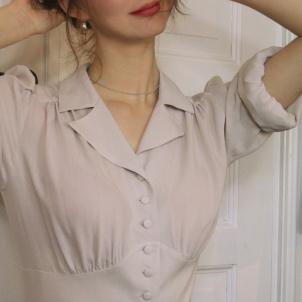 blouse Elna champagne