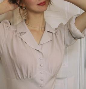 blouse Elna champagne - 42
