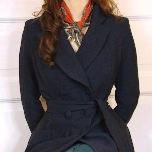 coat Svea dark blue