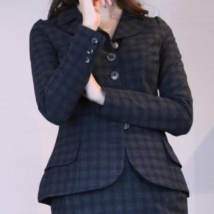 jacket Dolly blue-grey checkered
