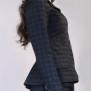 jacket Dolly blue-grey checkered