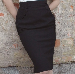 skirt Mary black - 34