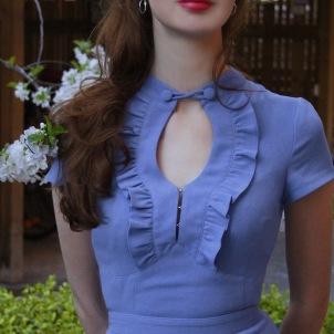 dress Anemone violet blue