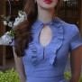 dress Anemone violet blue - 44