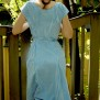 dress Nina blue-turquoise