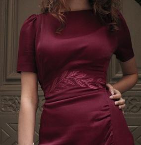 dress Lauren cherry red - 42