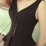 corset-vest Joline black