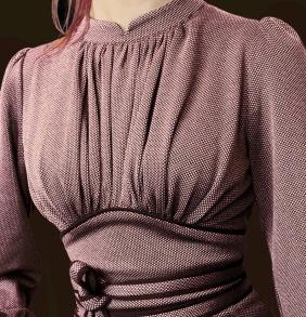 dress Mirja mauve - 36