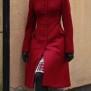 coat Saga red