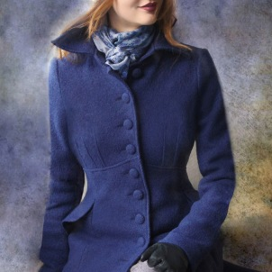 coat Saga twilight blue