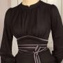 dress Mirja black - 44