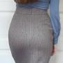 skirt Laura grey - 44
