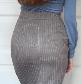 skirt Laura grey - 42