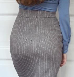 skirt Laura grey - 34
