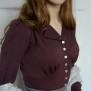 blouse Elna mild plum - 44