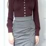 blouse Elna mild plum