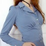 blouse Elna dove blue - 44