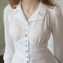 blouse Elna white