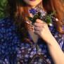 dress Elenor Blue Hepatica - 44