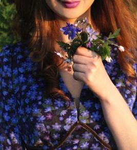 dress Elenor Blue Hepatica - 38