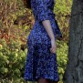 dress Elenor Blue Hepatica