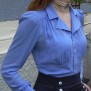 blouse Elna violet blue - 44