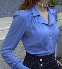 blouse Elna violet blue - 34