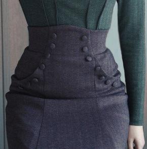 skirt Alexandra dark Mauve - 34