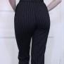 pants Jackie black pinstripe