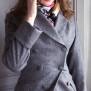 coat Ester greyish mauve - 42