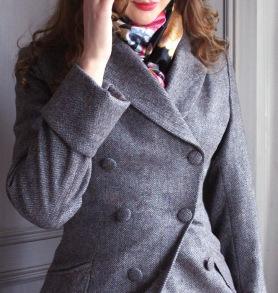 coat Ester greyish mauve - 34