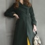 coat Ester forest green