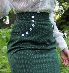 skirt Mary green
