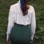 skirt Mary green