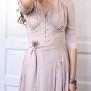 dress Elise Champagne