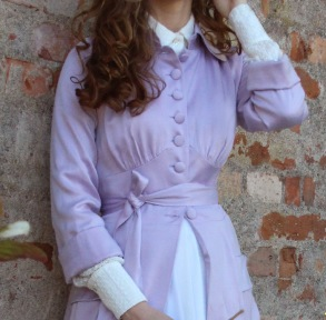 coat Mildred misty lilac - 34