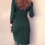 dress Cat dark emerald green