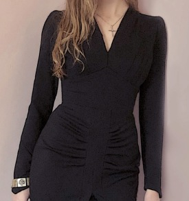 dress Alva black - 34