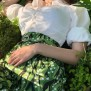 skirt Alexandra Lily of the valley