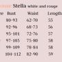 blouse Stella rouge-peach