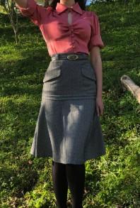 skirt Simone herringbone - 34