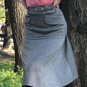 skirt Simone herringbone