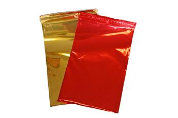 Presentpåsar  Guld Large
