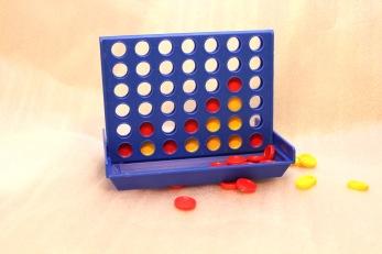 Spel, 4 i rad mini - Spel, Fyra i rad mini