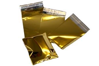 Presentpåsar  Guld Medium