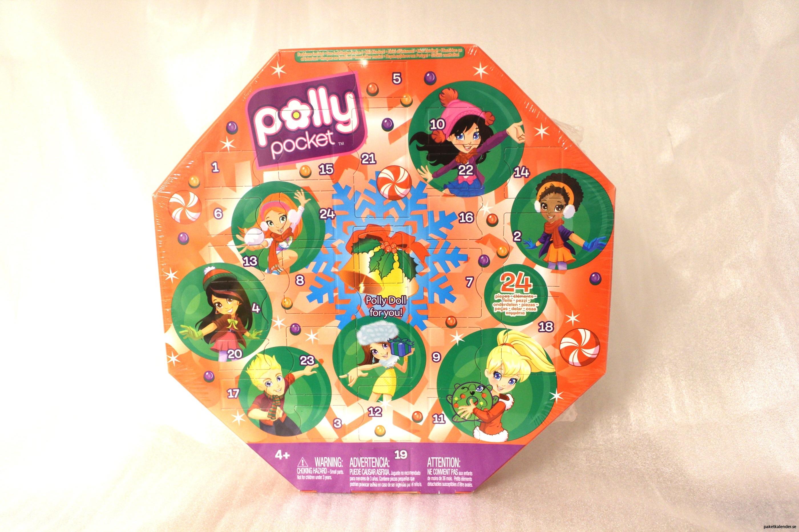 Leksakskalender Polly Pocket