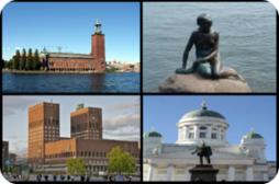 斯堪地纳维亚风味城市游